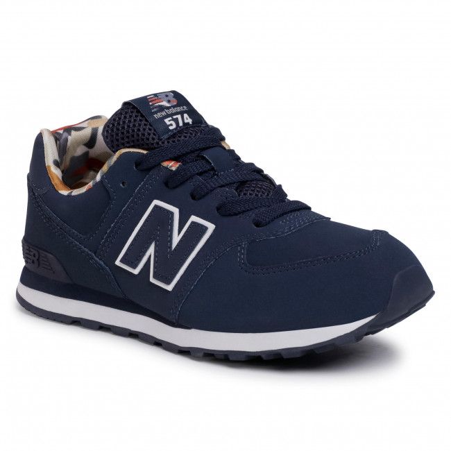 Trainers NEW BALANCE - GC574GYZ  Navy Blue