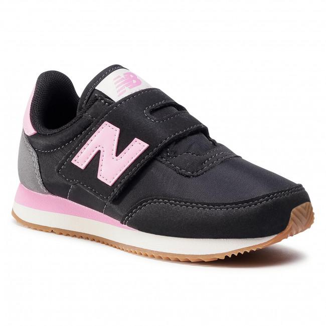 kids new balance trainers black
