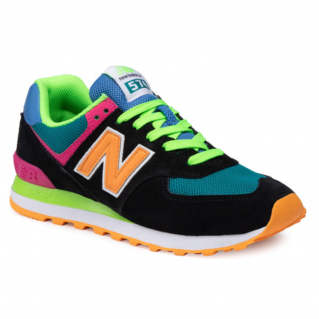Black Colourful - Sneakers - Low shoes