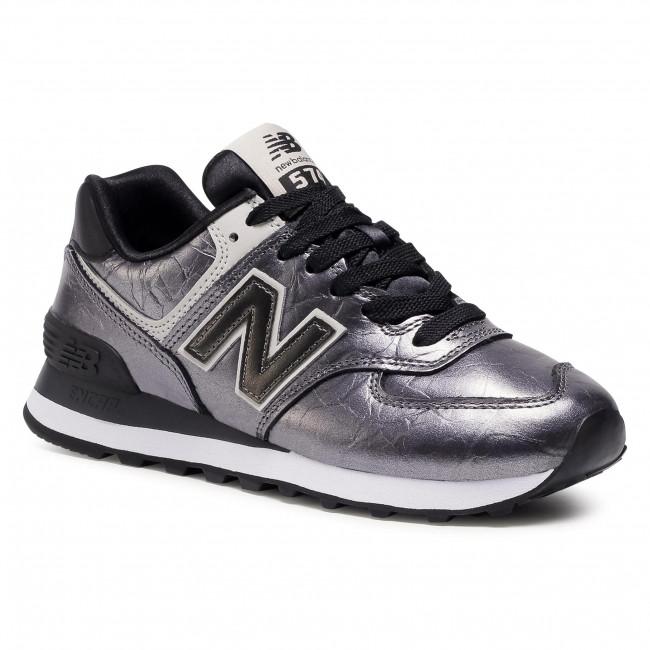Trainers NEW BALANCE - WL574WNF Silver