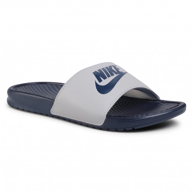 toma una foto dividir dinastía  Slides NIKE - Benassi Jdi 343880 024 Wolf Grey/Midnight Navy - Clogs and  mules - Mules and sandals - Men's shoes | efootwear.eu