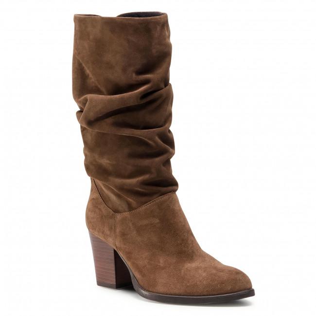 Knee High Boots NESSI - 60819 Brąz W1