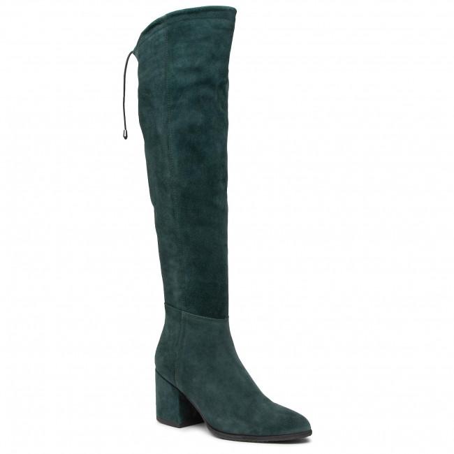 Over-Knee Boots NESSI - 65719 Zielony W5