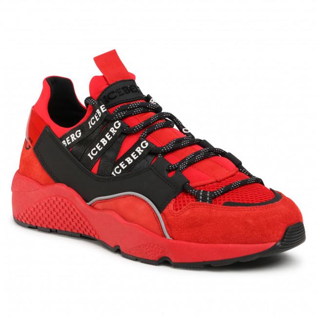 Trainers ICEBERG - MIU1365C Full Red