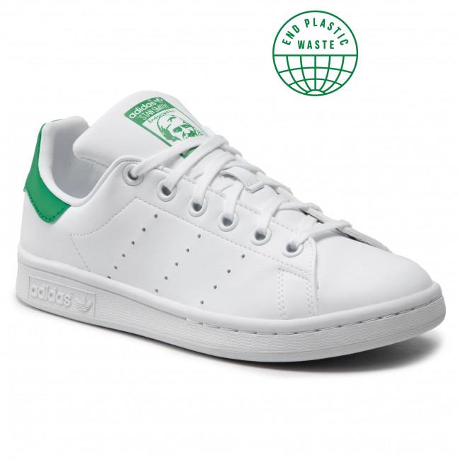 Footwear adidas - Stan Smith J FX7519 Ftwwht/Ftwwht/Green