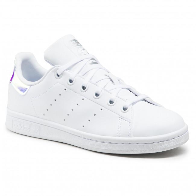 Footwear adidas - Stan Smith J FX7521 Ftwwht/Ftwwht/Silvmt