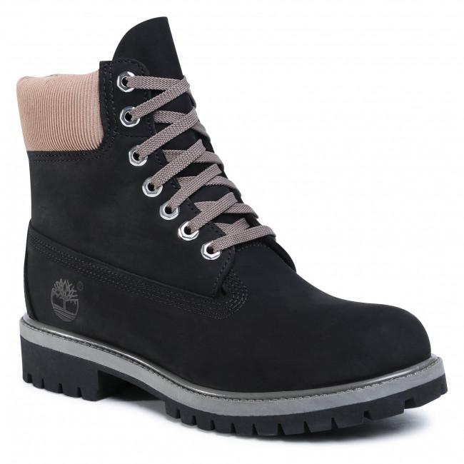 Hiking Boots TIMBERLAND - Premium Waterproof Boot TB0A2NA1 Black Nubuk