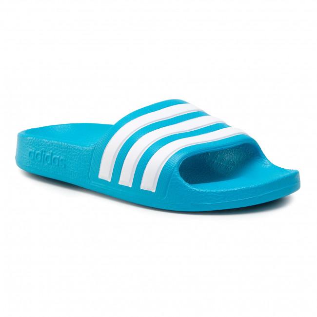 Slides adidas - adilette Aqua K FY8071 Solblu/Ftwwht/Solblu