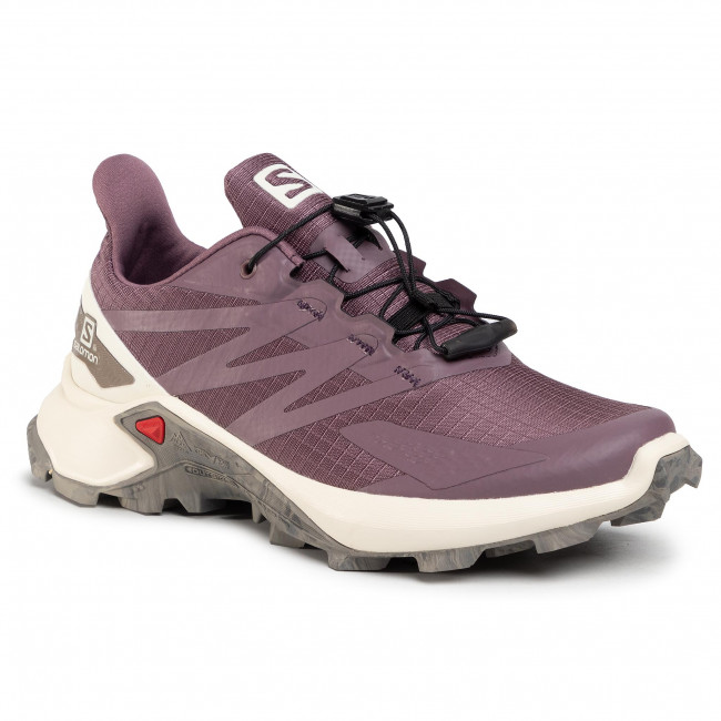 Footwear SALOMON - Supercross Blast W 411078 20 V0 Flint/Vanilla Ice/Vintage Kaki