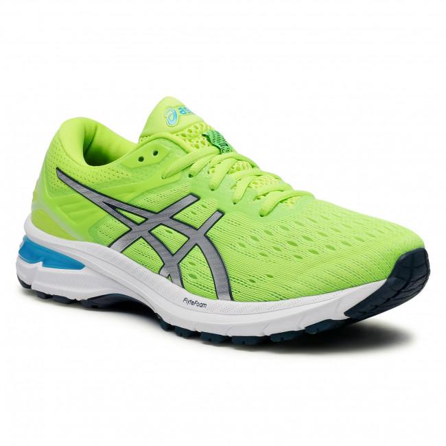 Footwear ASICS - GT-2000 9 1011A983 Hazard Green/Pure Silver 300
