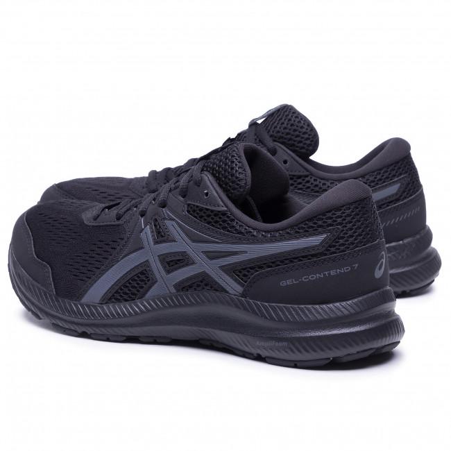 Footwear ASICS - Gel-Contend 7 1011B040 Black/Carrier Grey 001
