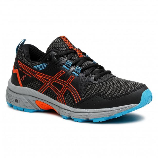 Footwear ASICS - Gel-Venture 8 GS 1014A141 Black/Marigold Orange 005
