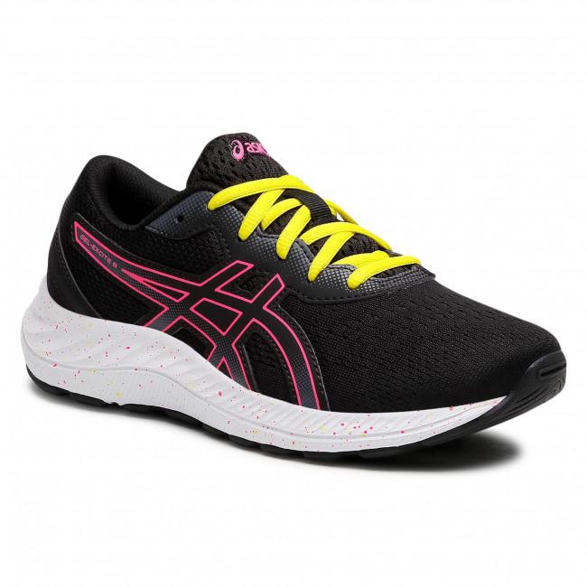 Footwear ASICS - Gel-Excite 8 GS 1014A201 Black/Hot Pink