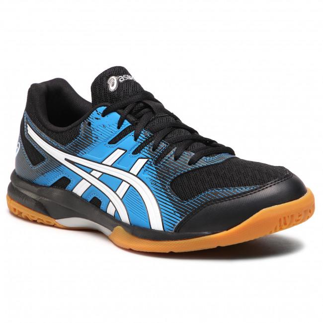 Footwear ASICS - Gel-Rocket 9 1071A030 Black/Directoire Blue 002