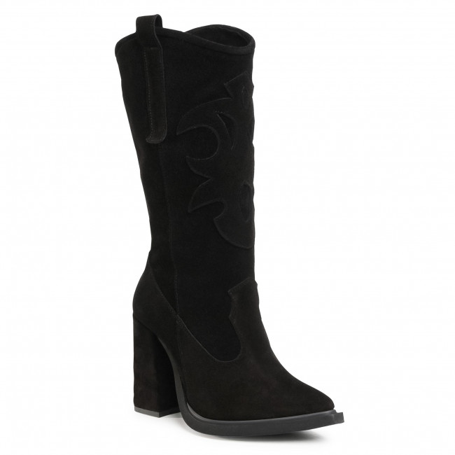 Knee High Boots OLEKSY - 2903/E12/000/000/000 Black