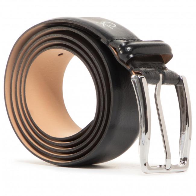 Men's Belt CALVIN KLEIN - Score Line Buckle Fixed 35mm K50K506002 BAX