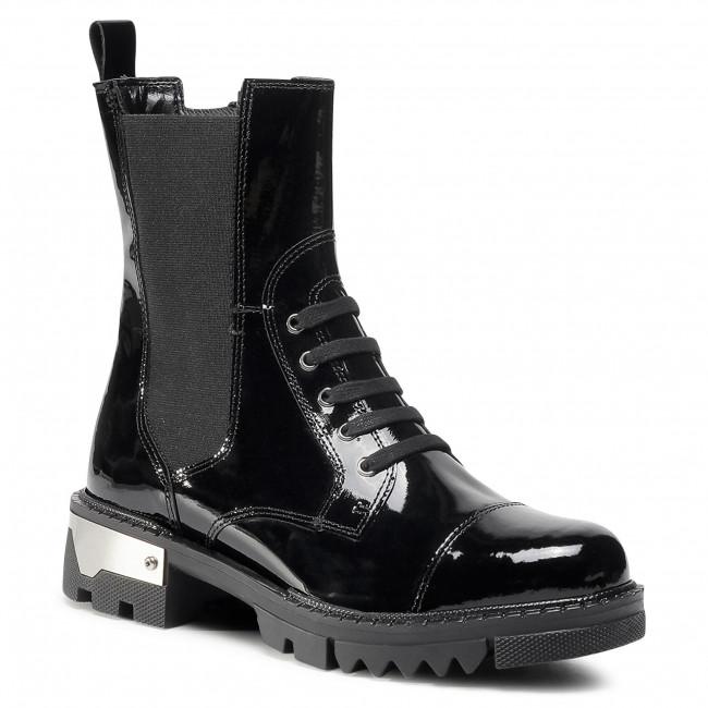 Hiking Boots SAGAN - 4294 Czarny Lakier
