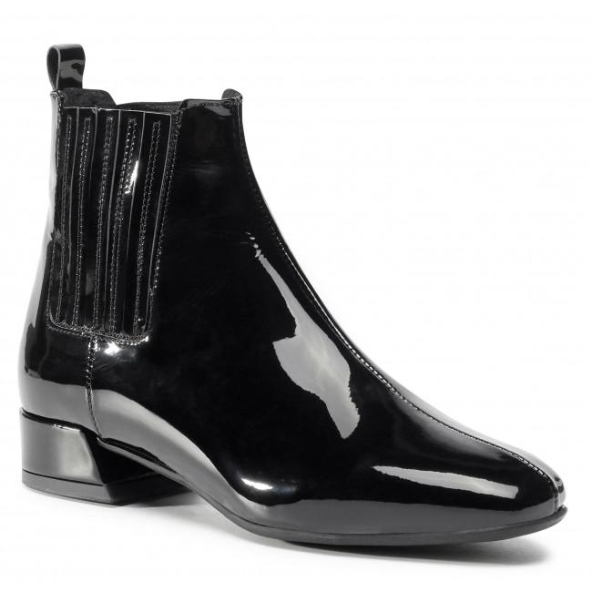 Chelsea boots SAGAN - 4417 Czarny Lakier
