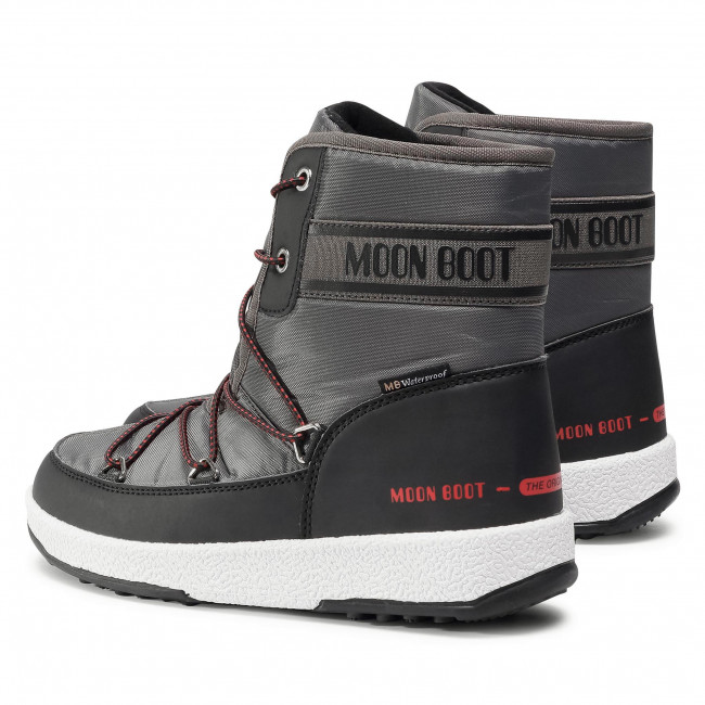 Moon-boot Boys Jr Mid Wp Snow Boots