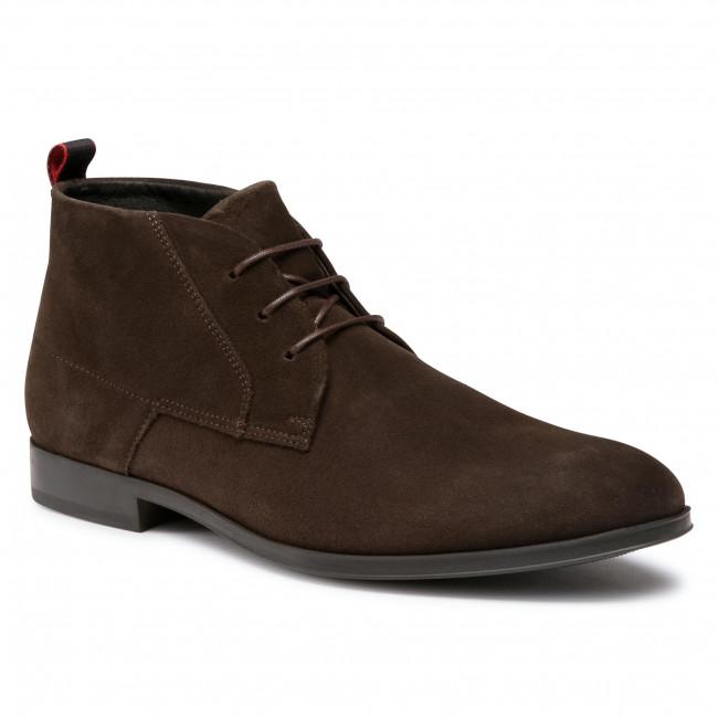 Boots HUGO - Boheme 50441045 10217722 01 Dark Brown 201