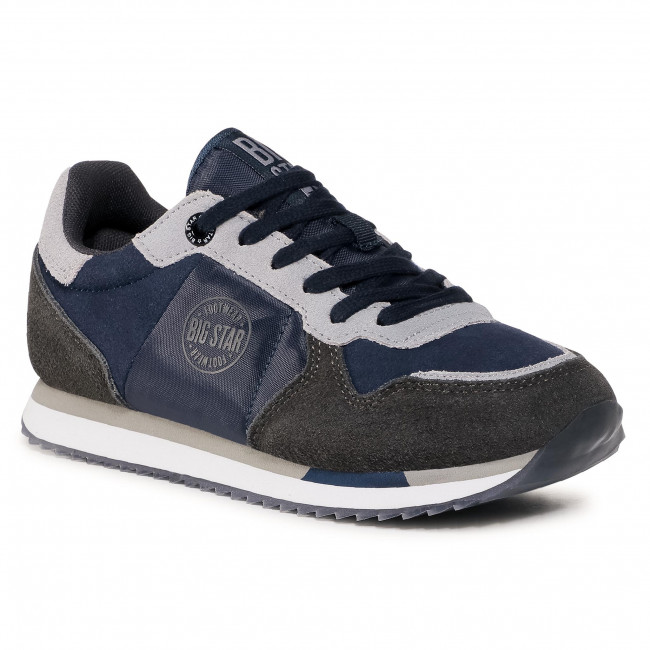 Trainers BIG STAR - GG274A056 403 Navy/Grey