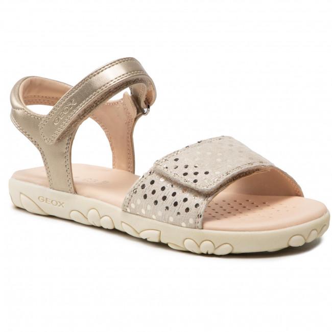 Sandals GEOX - J S.Haiti G.A J028ZA 007NF C5000 D Beige