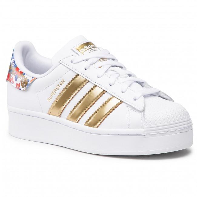 Footwear adidas - Superstar Bold W FY3653 Ftwwht/Ftwwht/Supcol
