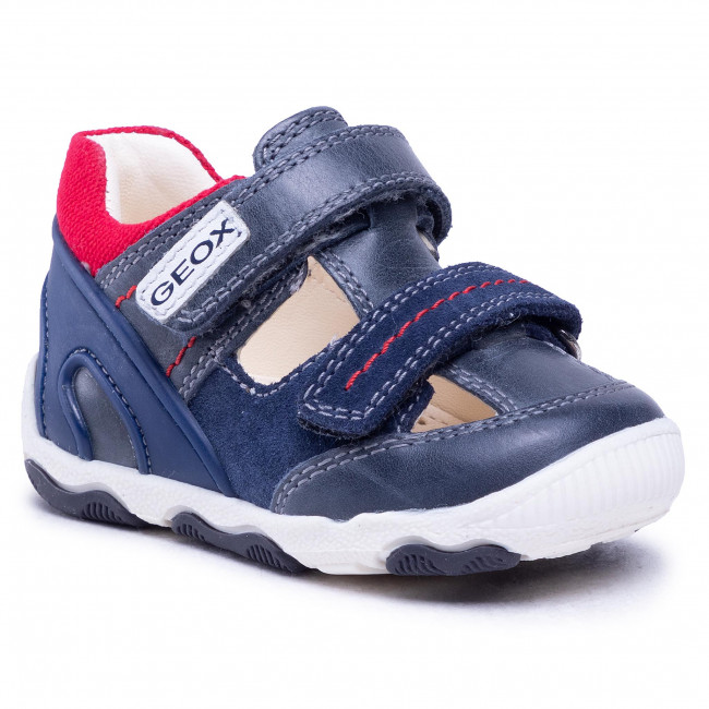 Shoes GEOX - B N.Balu' B. A B150PA 0CL22 C0735 Navy/Red