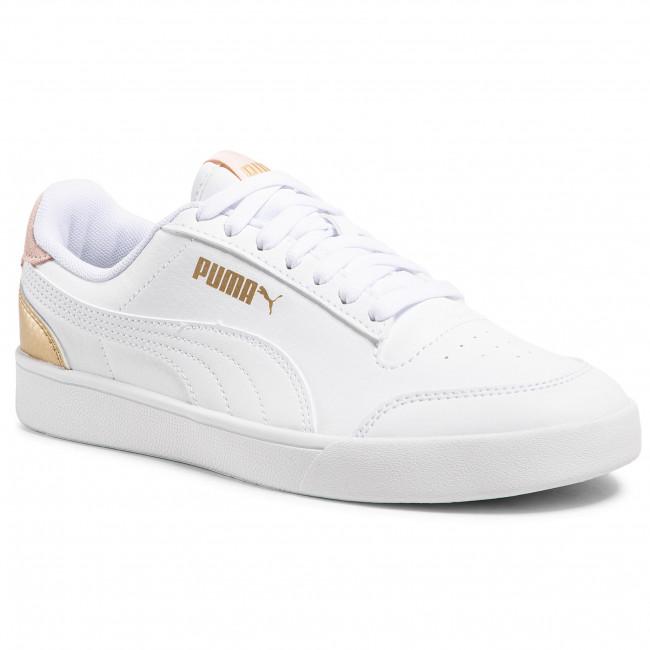 Footwear PUMA - Shuffle 309668 09 White/White/Pink/Gold