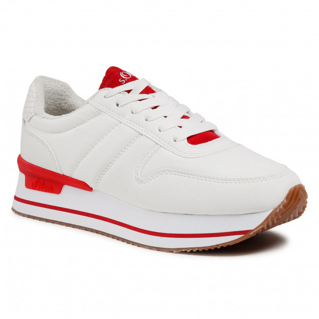 Trainers S.OLIVER - 5-23612-36 White Comb. 110