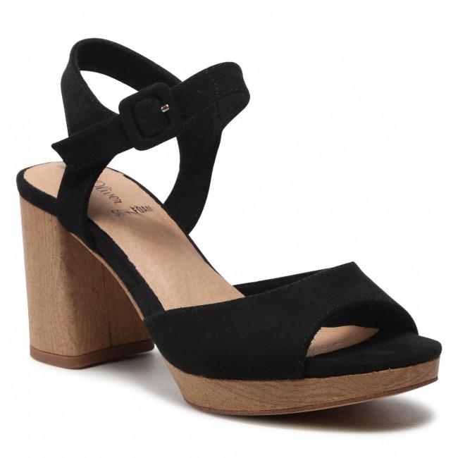 Sandals S.OLIVER - 5-28308-26 Black 001