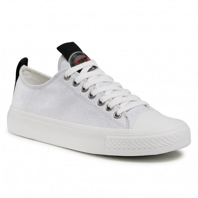 Sneakers GUESS - Ederla Low Cut FL5ERL FAB12 SILVE