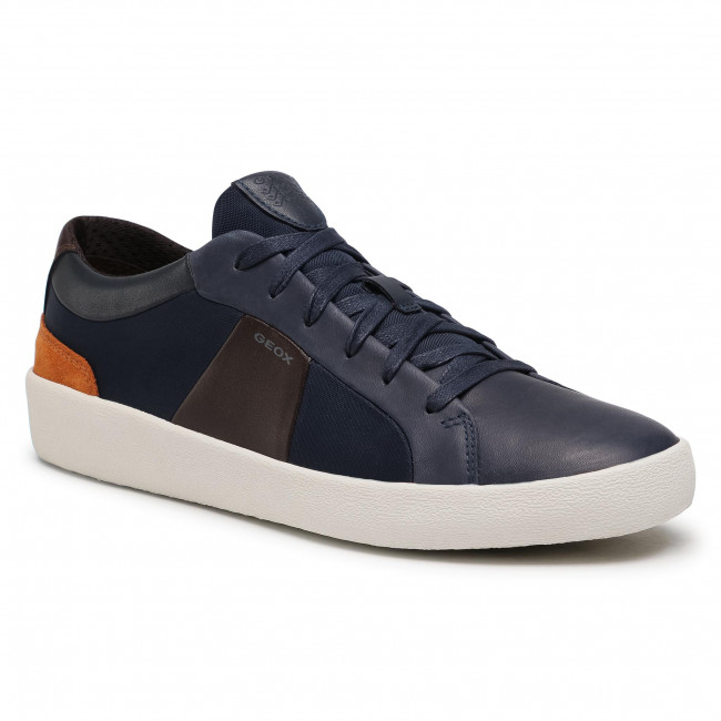 Prescribir precoz Pez anémona  Trainers GEOX - U Warley B U926HB 04311 C4339 Navy - Sneakers - Low shoes -  Men's shoes | efootwear.eu