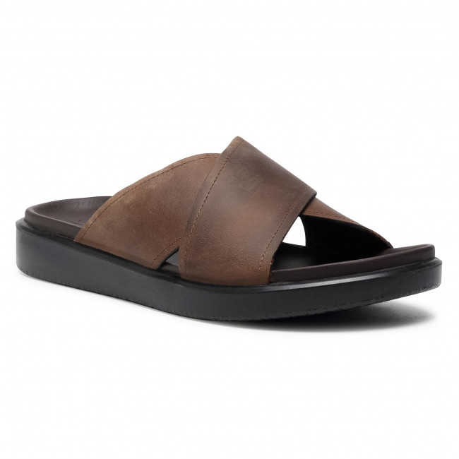Slides ECCO - Flowt Lx M 27386402482 Cocoa Brown