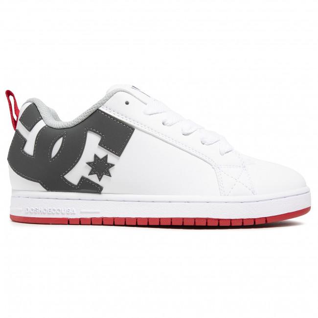 DC Sneaker dans Grandes Tailles Court Graffik 300529-wyr White