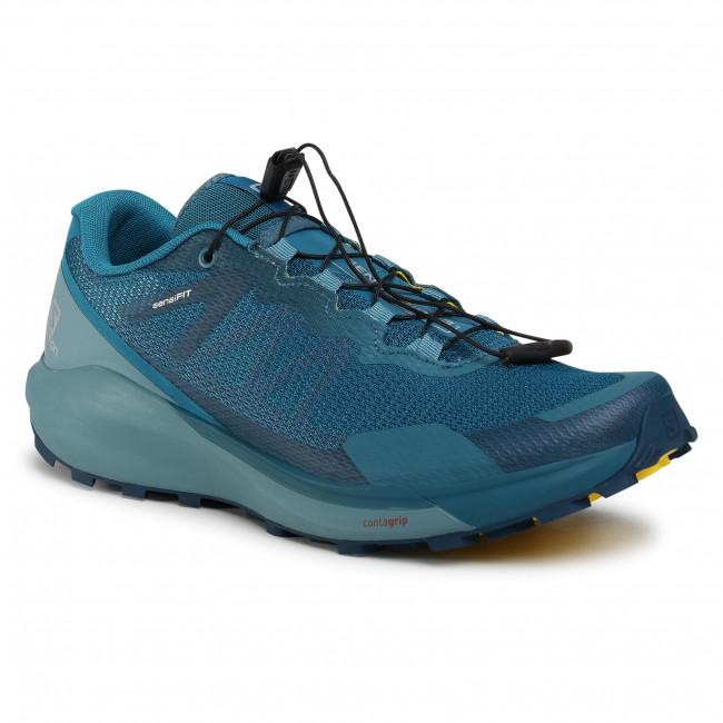 Footwear SALOMON -  Sense Ride 3 409602 27 V0 Lyons Blue/Smoke Blue/Lemon Zest