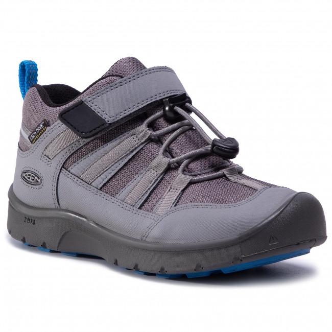 Trekker Boots KEEN - Hikeport 2 Low Wp 1023287 Steel Grey/Brilliant Blue