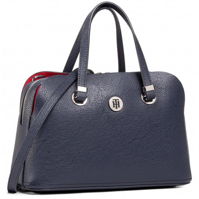 Handbag TOMMY HILFIGER - Th Core Med Satchel AW0AW08601 CJM