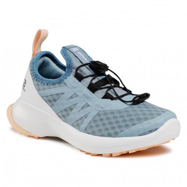 Footwear SALOMON - Sense Flow J 413033 09 W0 Ashley Blue/White/Almond Cream