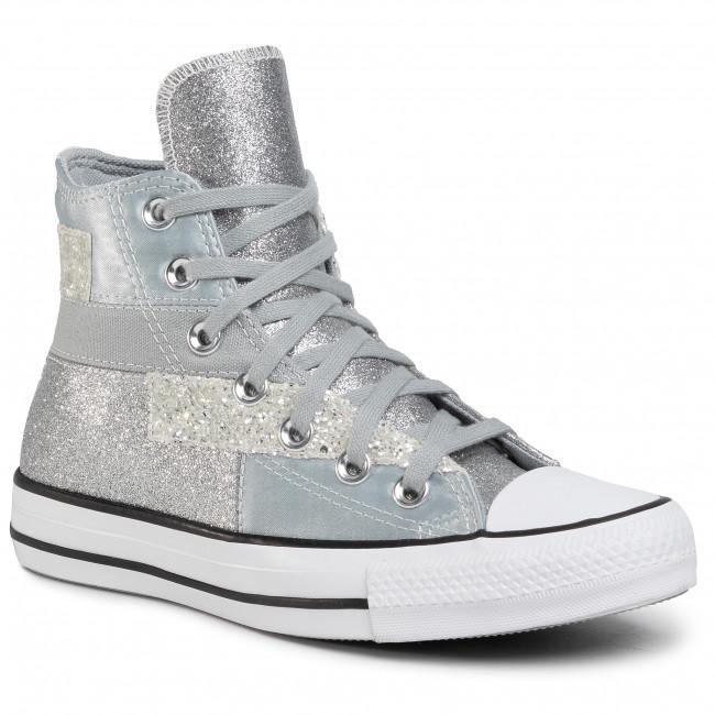 Sneakers CONVERSE - Ctas Hi 569426C Ash Stone/Black/Wh