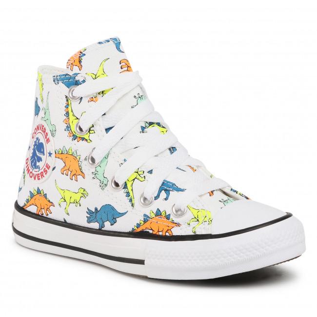 Sneakers CONVERSE - Ctas Hi 669671C  White/Enamel Red/C