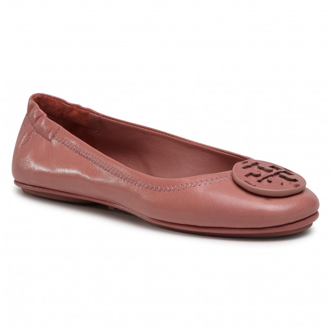 Flats TORY BURCH - Minnie Travel Ballet 79520 Rosa/Rosa 650