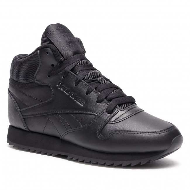 Footwear Reebok - Cl Lthr Mid Ripple FZ4762 Black/Black/Black