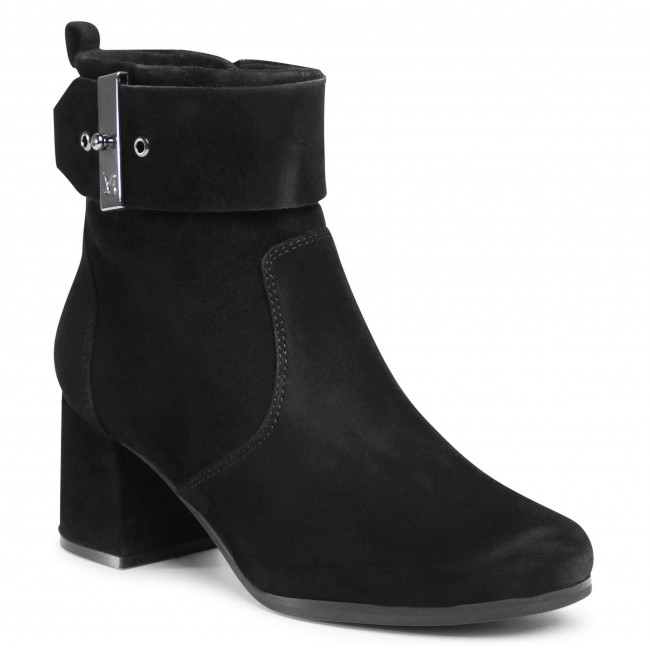 Ankle boots CAPRICE - 9-25330-25  Black Suede 004