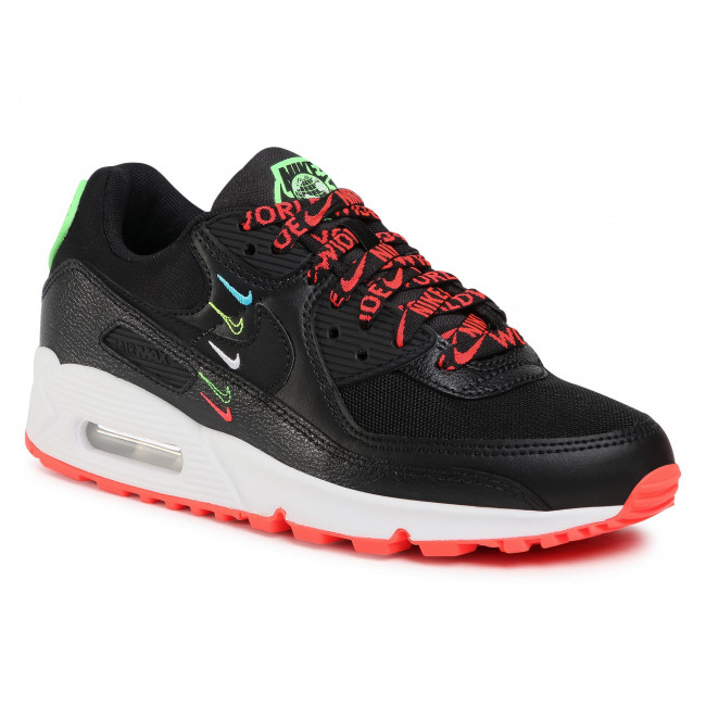 Footwear NIKE - Air Max 90 Ww CK7069 001 Black/Black/Flash Crimson