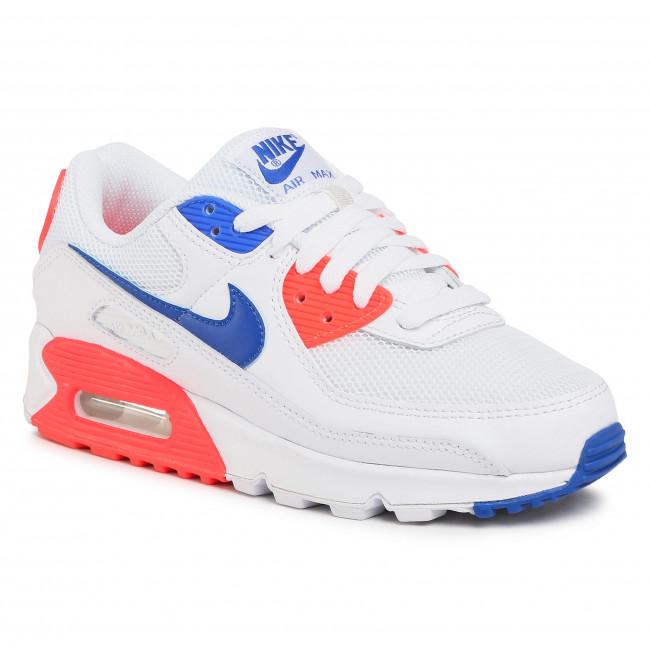 Footwear NIKE - Air Max 90 CT1090 100 White/Racer Blue/Flash Crimson