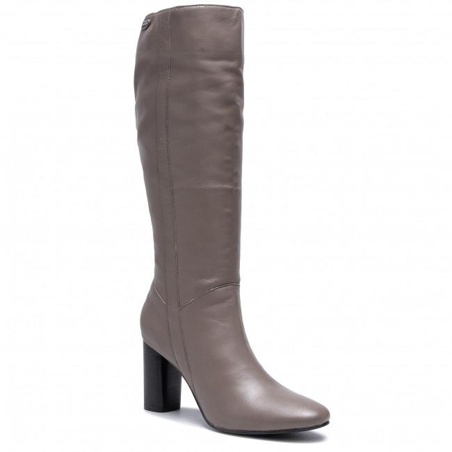 Knee High Boots PEPE JEANS - Parson Bass PLS50367 Concrete 840