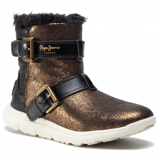 Ankle boots PEPE JEANS - Hyke W Snow PLS30762  Gold 099