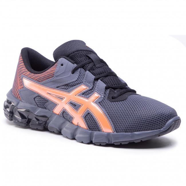 Trainers ASICS - Gel-Quantum 90 2 1021A522 Black/Shocking Orange 004