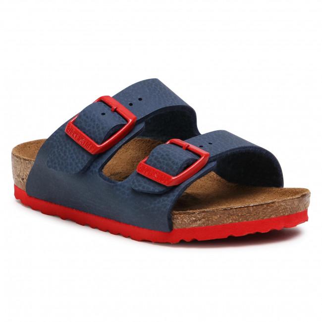 Slides BIRKENSTOCK - Arizona Kids 1017364 Desert Soil Blue Red